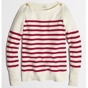 J.Crew Factory Sailor Sweater in Stripes